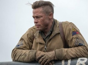 Brad Pitt stars in Columbia Pictures' FURY.